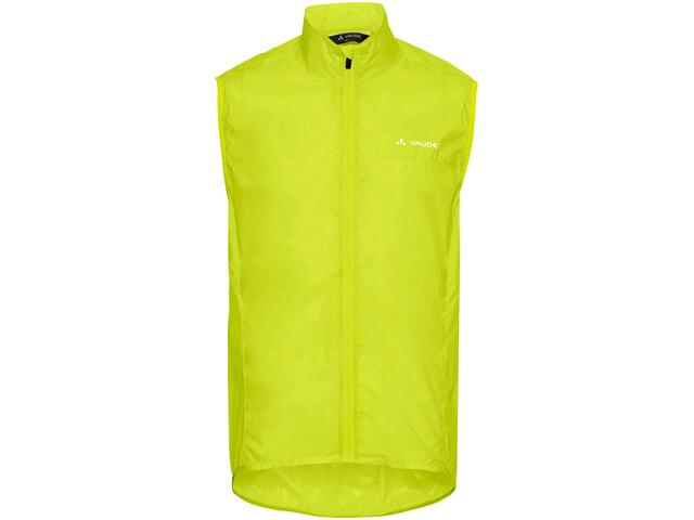 VAUDE Air III Fietsvest Heren, bright green